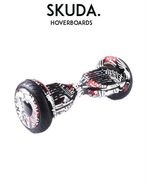 Black Graffiti Hoverboard Sale