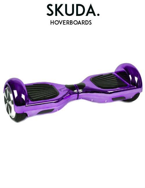 SKUDA Hoverboard Sale Purple Chrome Swegway