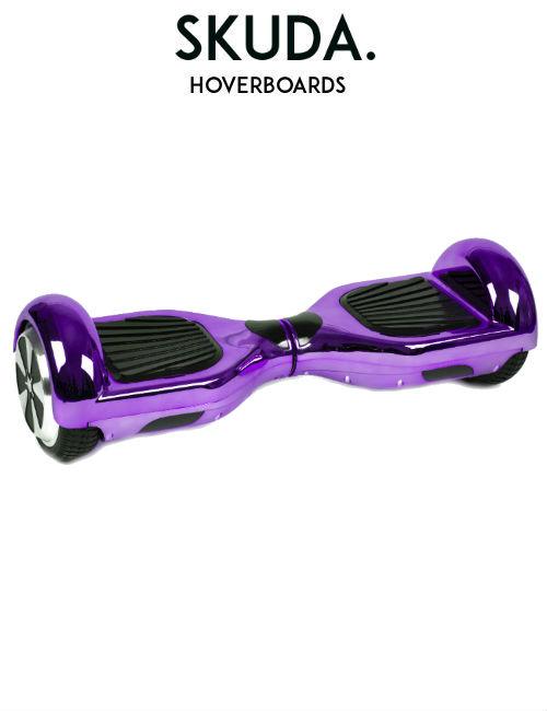 SKUDA Hoverboard Sale Purple Chrome Swegway