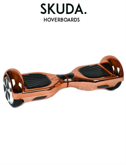 SKUDA Hoverboard Sale Rose-Gold Chrome Swegway