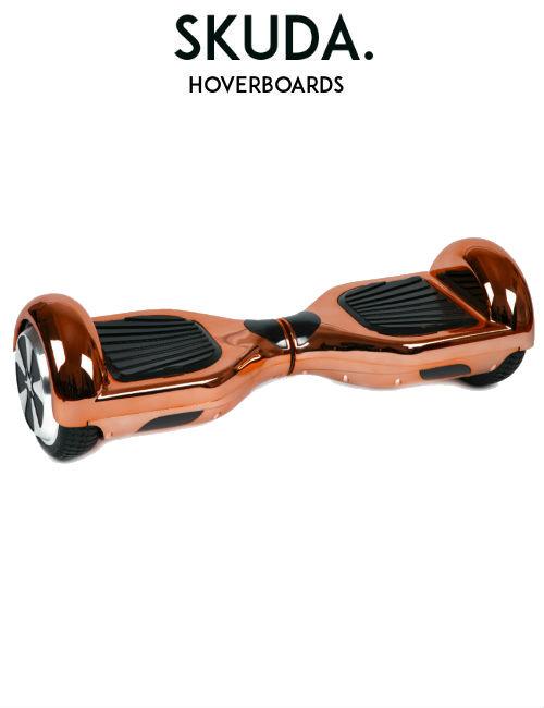 SKUDA Hoverboard Sale Rose-Gold Chrome Swegway