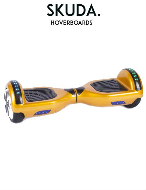 Gold Disco Hoverboard Sale, UK Swegways
