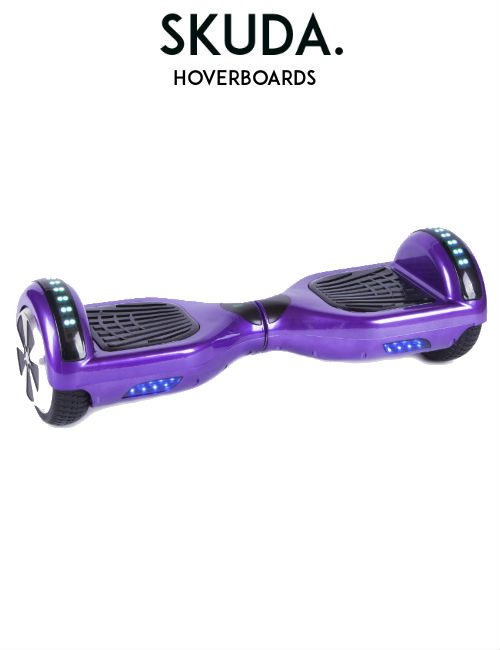 Purple Disco Hoverboard, UK Swegways