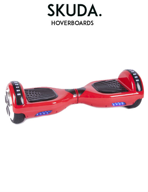 Red Disco Hoverboard Sale, UK Swegway