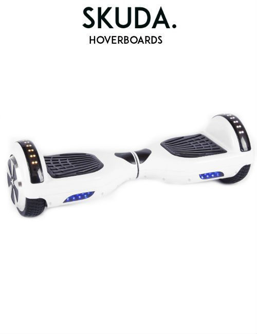 White Disco Hoverboard Sale, UK Swegways