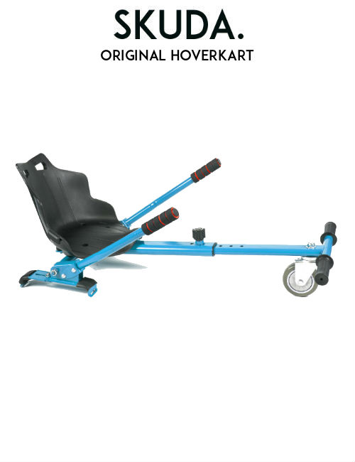 original Hoverkart for Hoverboard Swegway blue