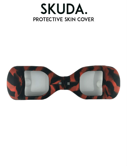red camo Hoverboard Protective Skin Cover