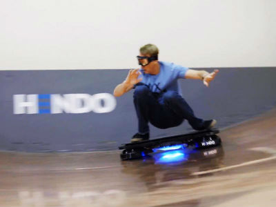 Levitating real Hoverboard Review, SKUDA.